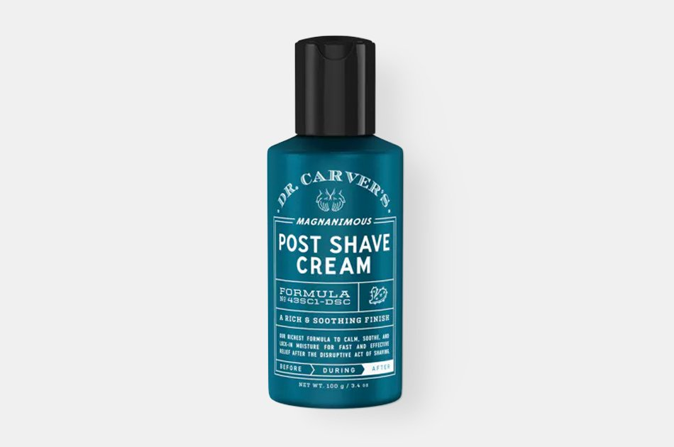 Dr. Carver's Magnanimous Post Shave Cream