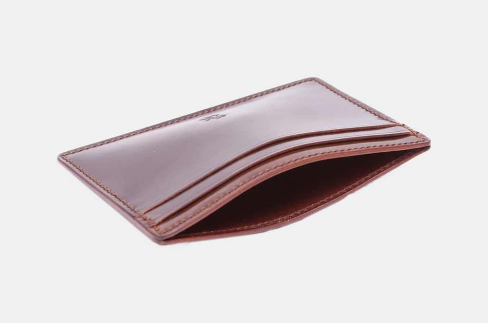 Kreis Cognac Cordovan Card Case