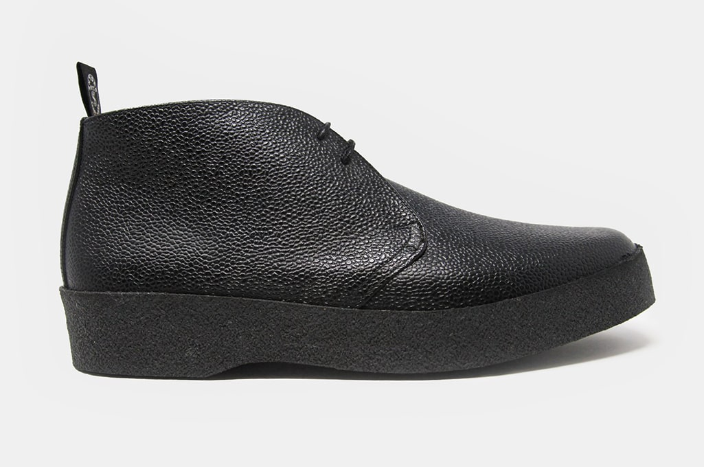 Sanders Grain Playboy Chukka Boot in Black