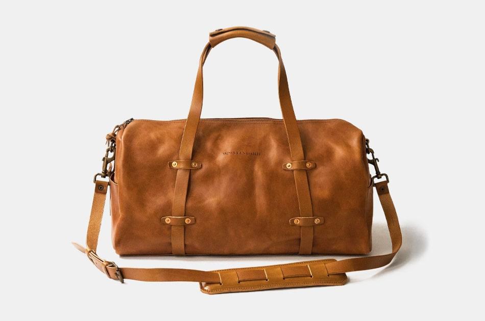WP Standard Leather Weekender Duffel
