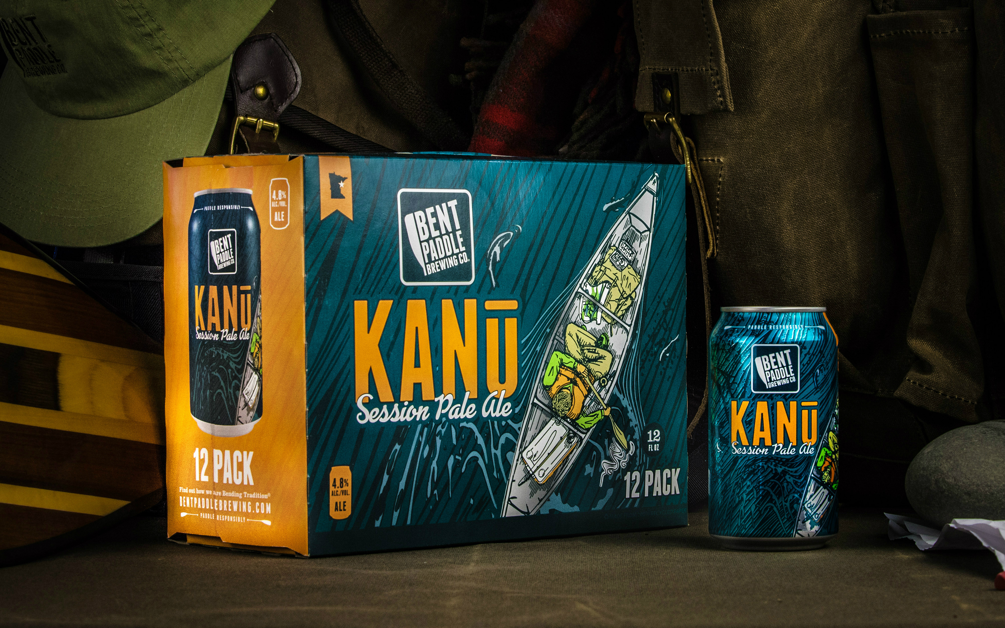 Bent Paddle Brewing Kanu Session Pale Ale