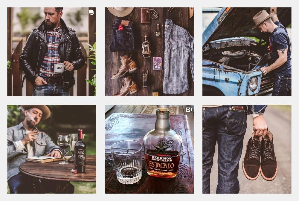 Denim & Whiskey Instagram