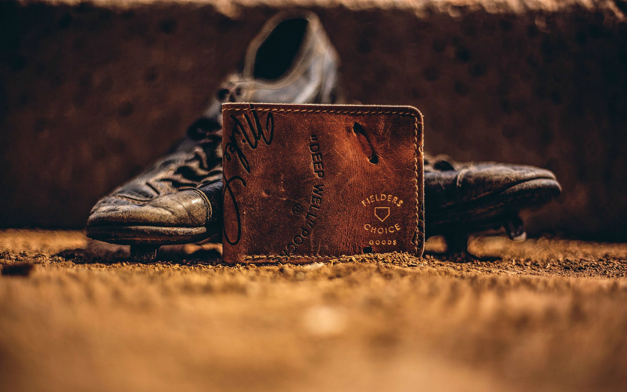 Fielder's Choice Vintage Baseball Glove Wallets