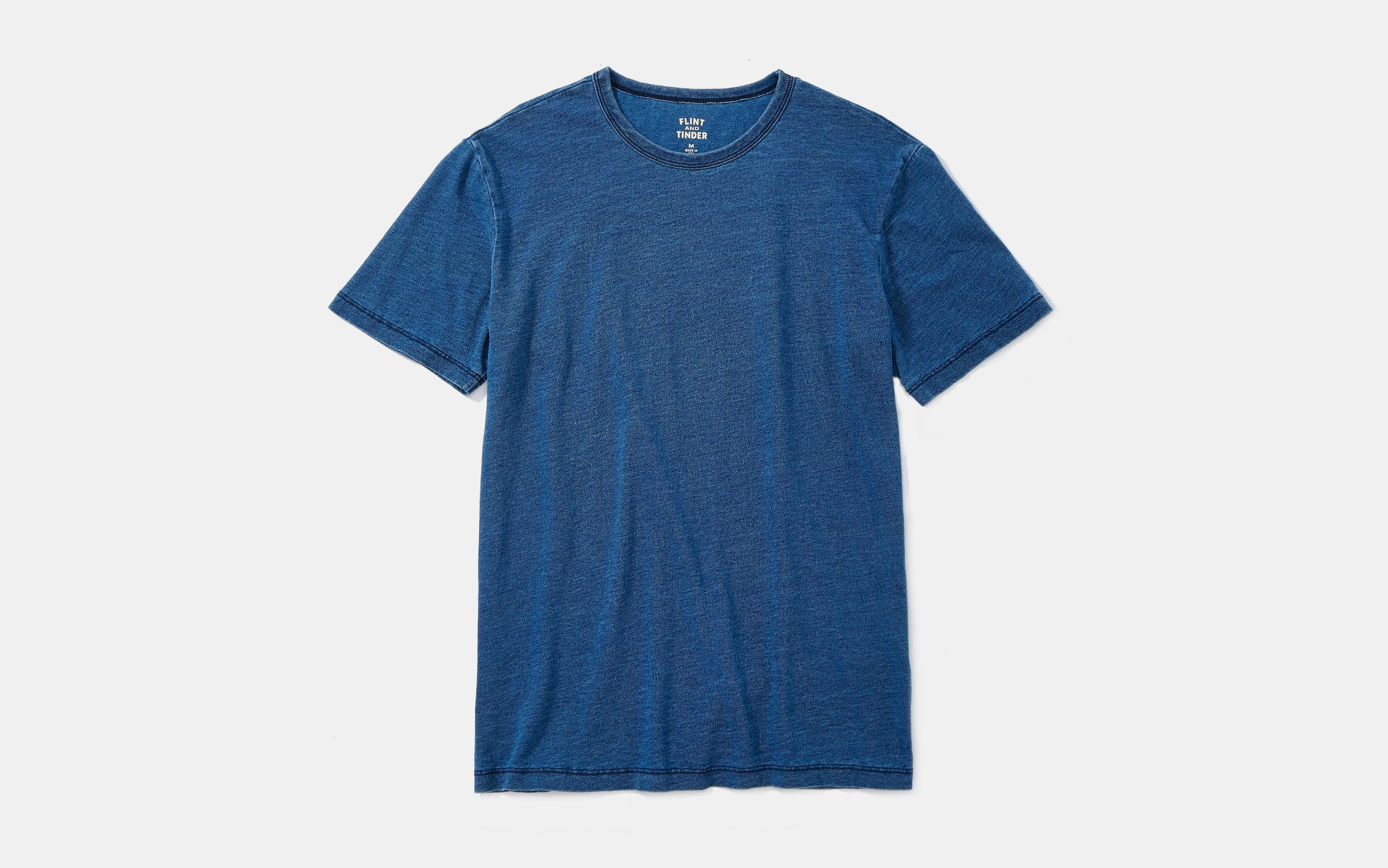 Flint and Tinder Indigo Tee
