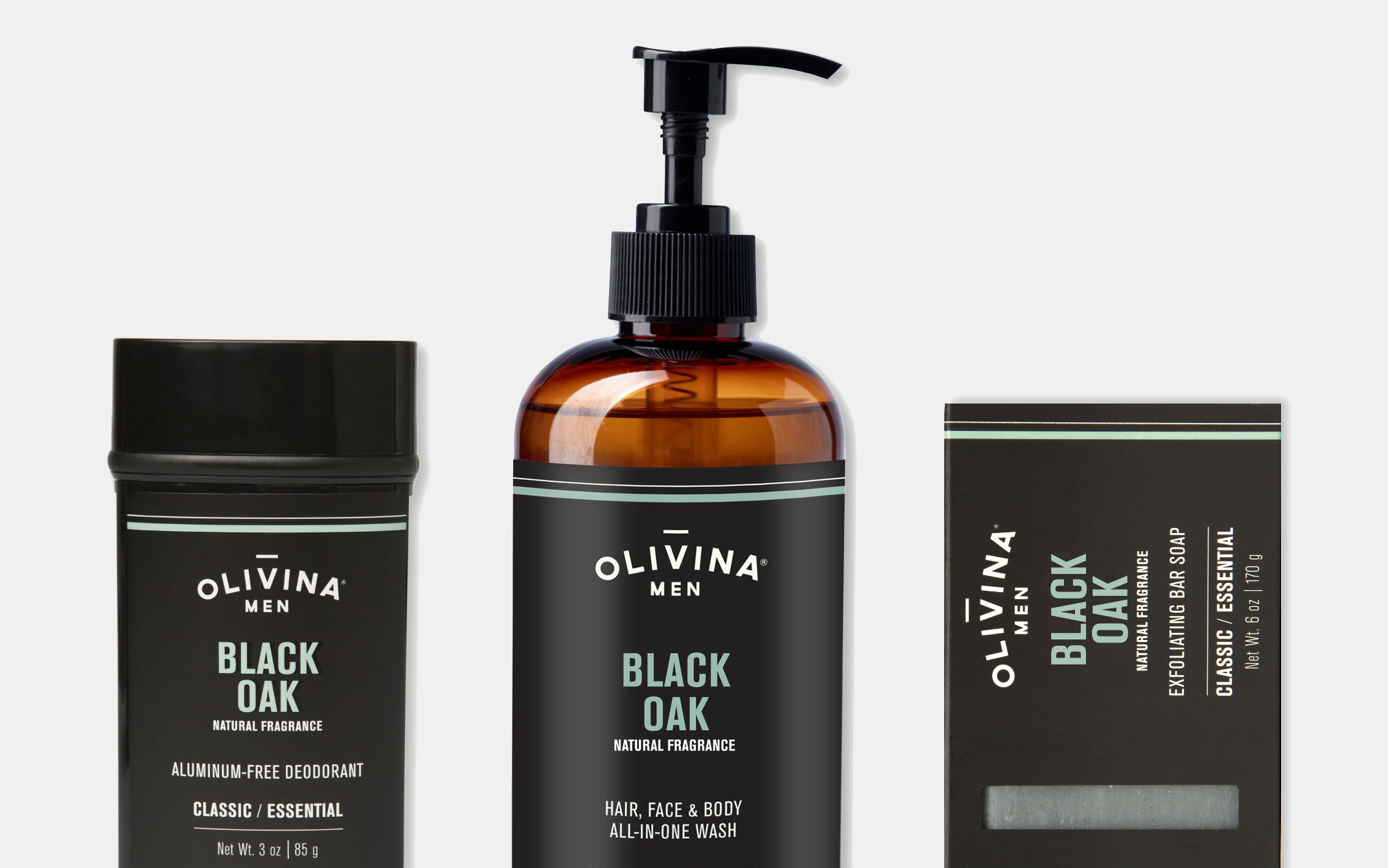Olivina Men Black Oak Collection