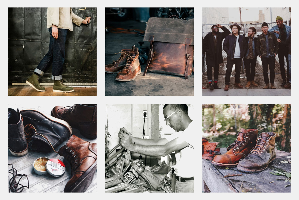 Red Wing Heritage Instagram