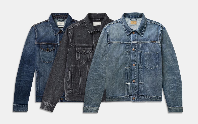OMINA Denim Blazer for Men 2019 Fashion Autumn Winter Cardigan Washed Vintage Distressed Long Sleeve Jacket