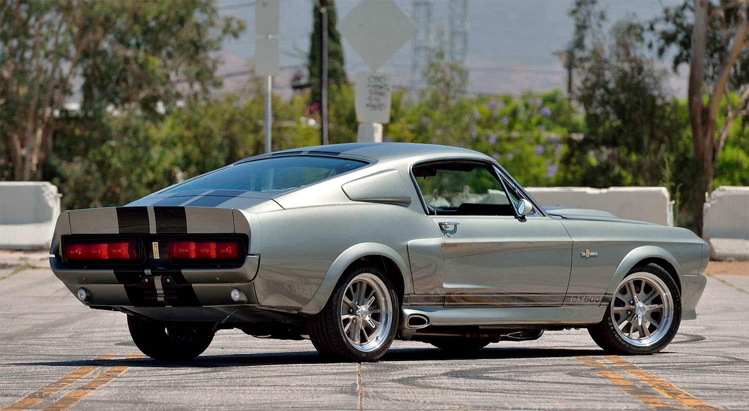 1967 Shelby Gt500 Eleanor >> 1967 Ford Shelby Mustang Gt500 Eleanor Gearmoose