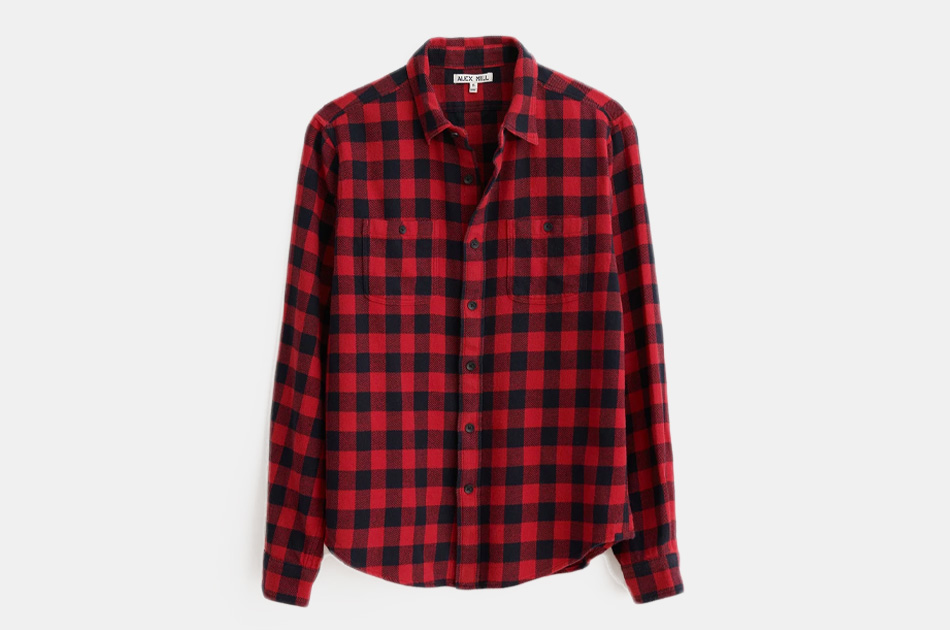 Alex Mill Buffalo Plaid Chore Shirt