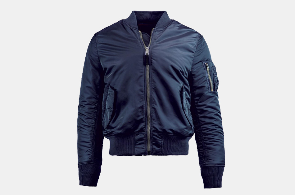 Alpha Industries MA-1 Slim Fit Bomber Flight Jacket