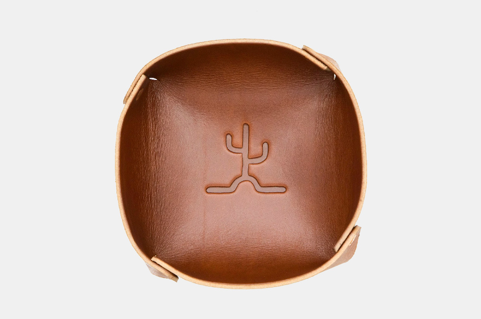 Bexar Goods Leather Valet Tray