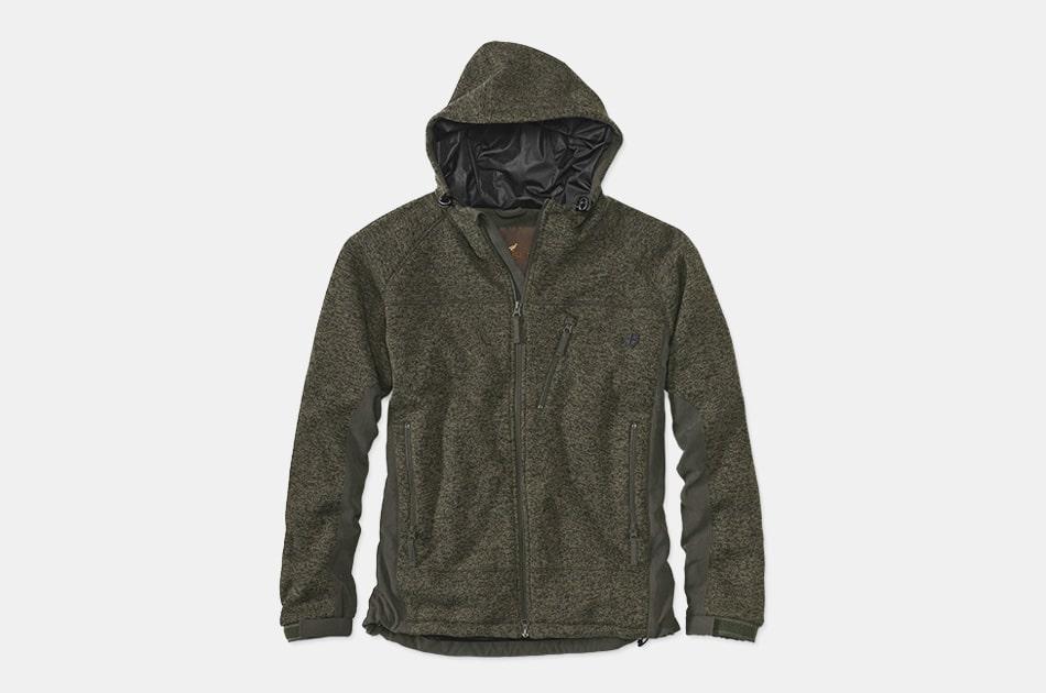Cairn Knitted Water Resistant Fleece Hoodie