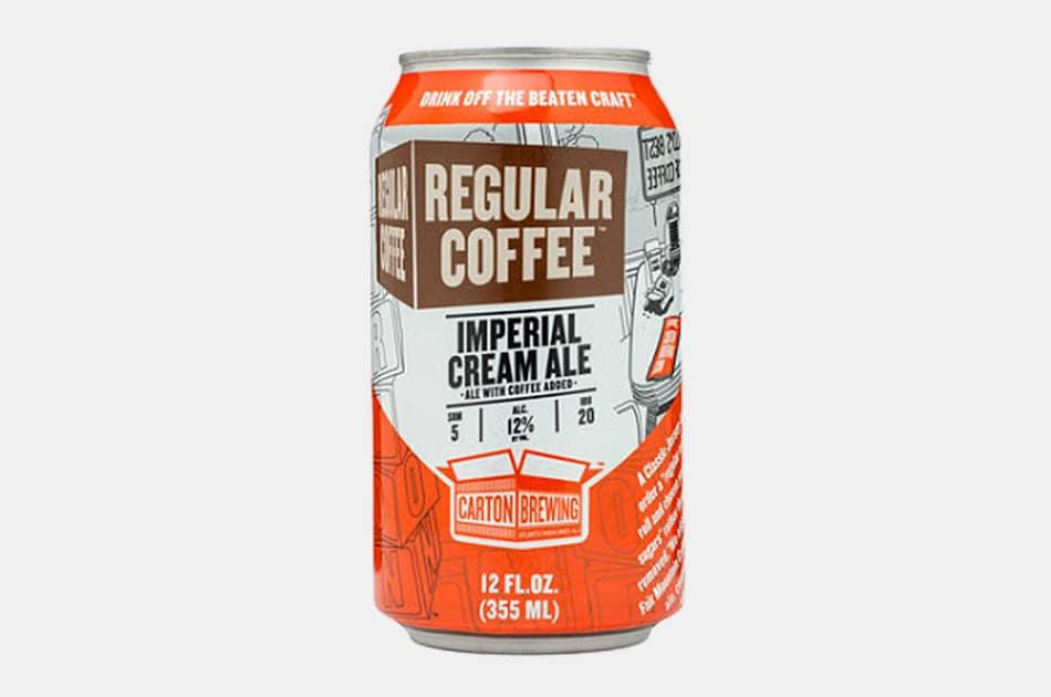 Carton Brewing Regular Coffee Imperial Cream Ale