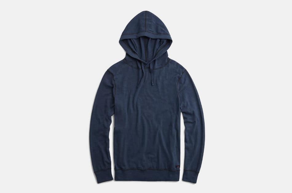 Faherty Brand Slub Cotton Hoodie
