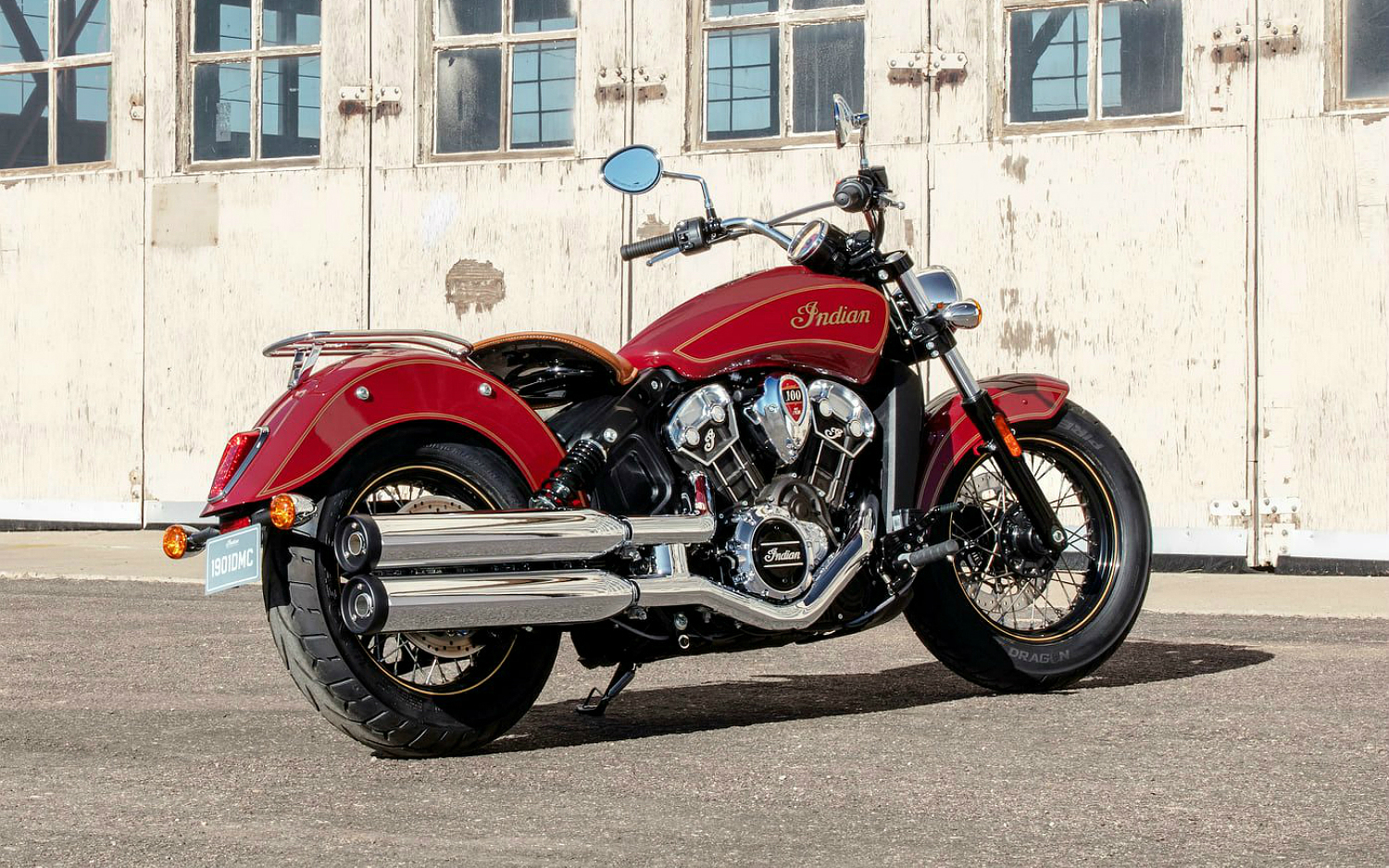 Indian Scout 100th Anniversary Motorcycle