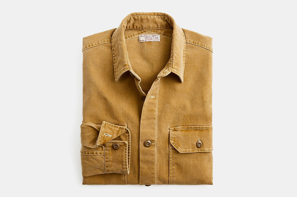 J.Crew Wallace & Barnes Stretch Shirt-Jacket