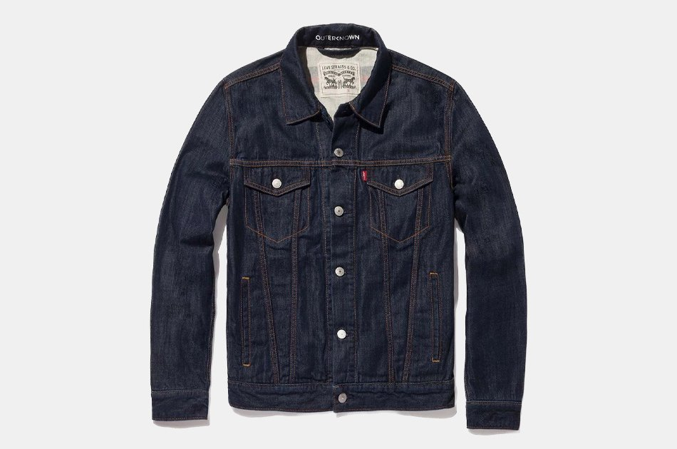Levi's x Outerknown Wellthread Lined Trucker Jacket