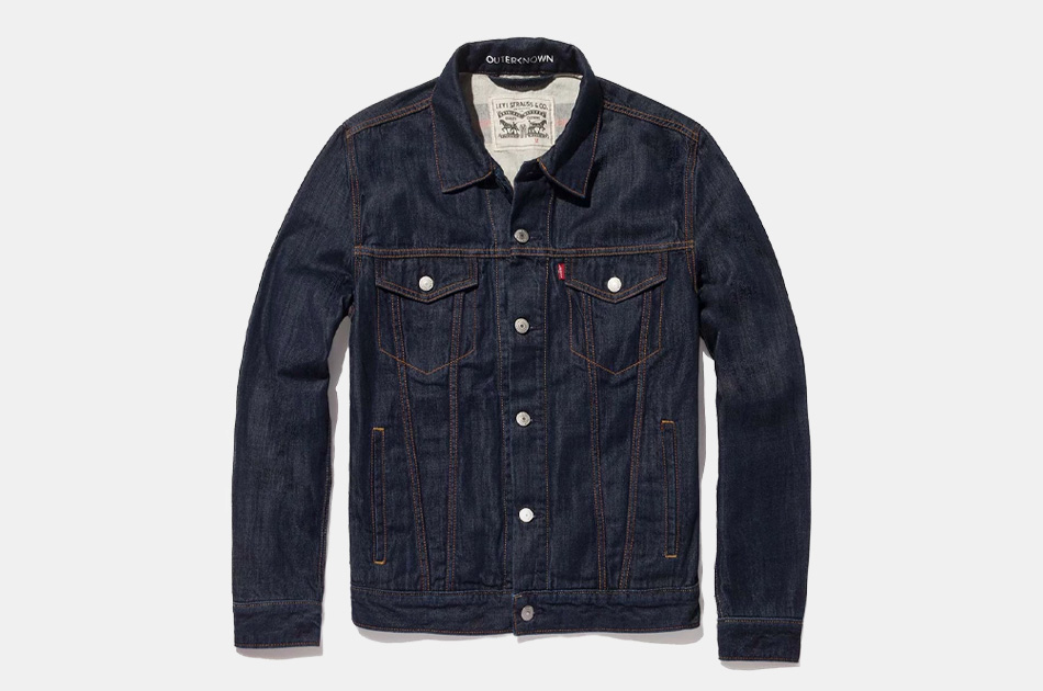 Levi's x Outerknown Wellthread Lined Trucker Jacket
