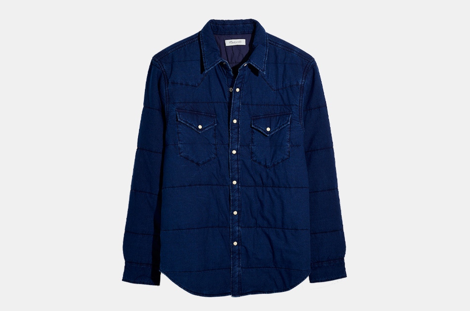 Madewell Men's Quilted Shirt Jacket
