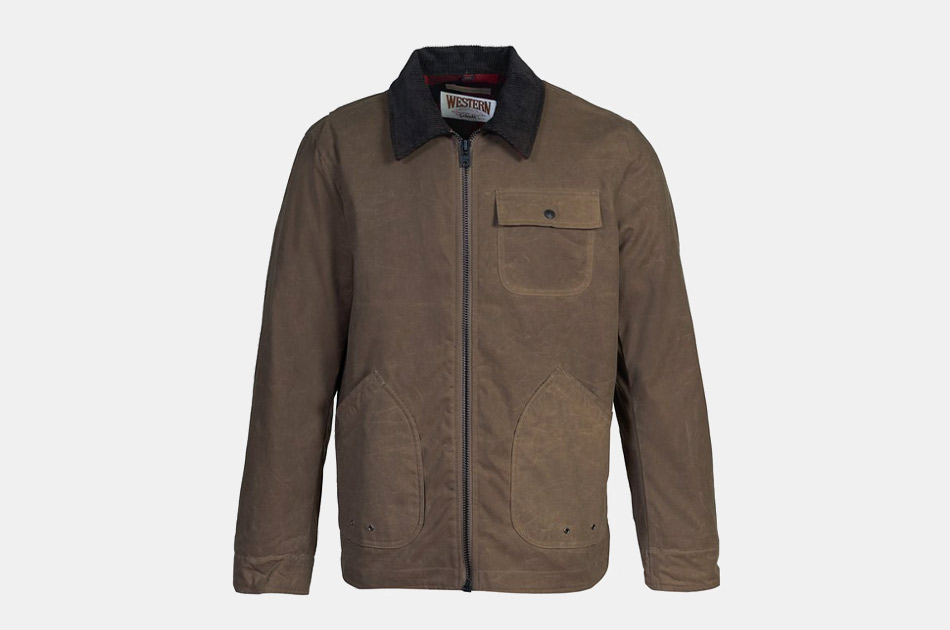 Schott Waxed Cotton Chore Jacket