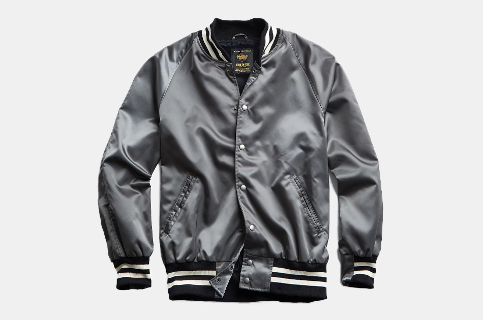 Todd Snyder + Golden Bear Japanese Nylon Bomber Jacket