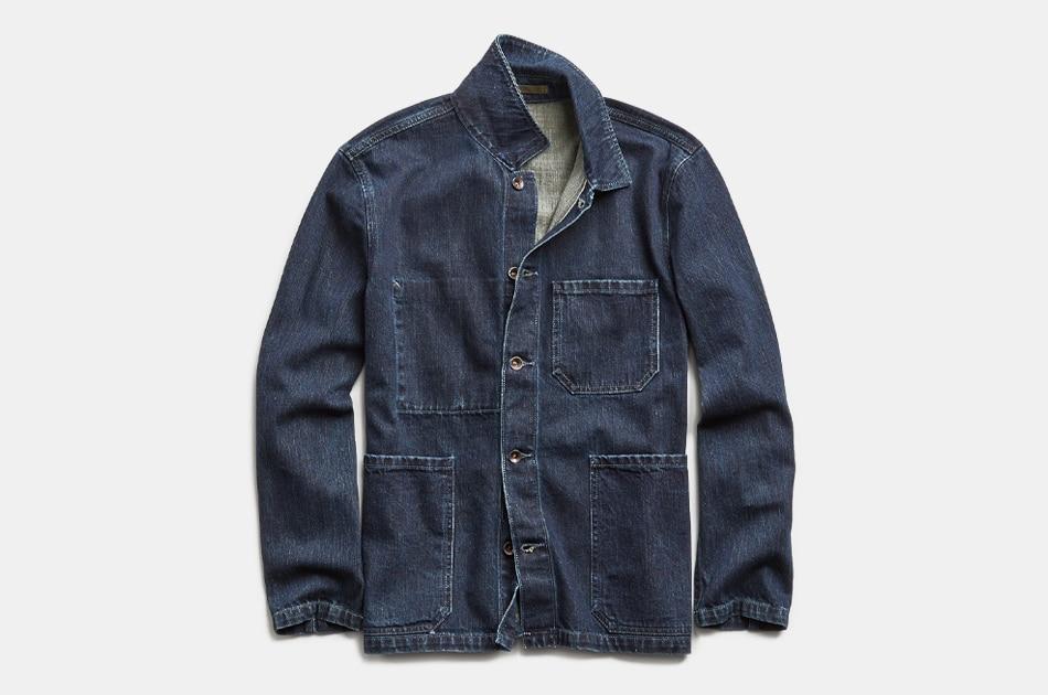 Todd Snyder Japanese Indigo Rinsed Chore Coat