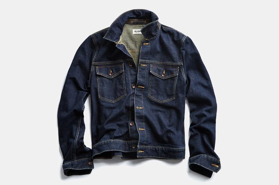 Todd Snyder Japanese Stretch Selvedge Denim Jacket