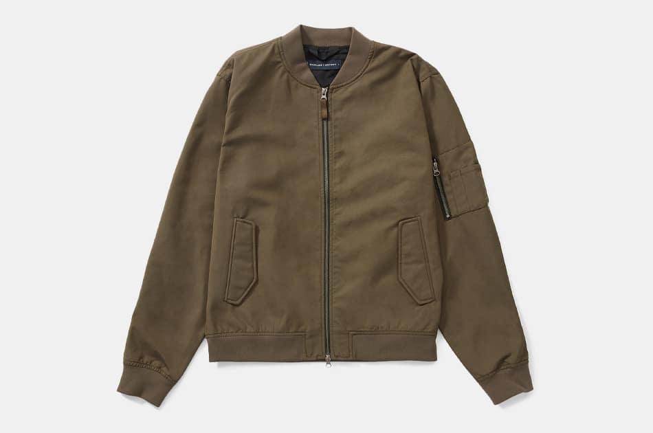 Everlane Uniform Bomber Jacket