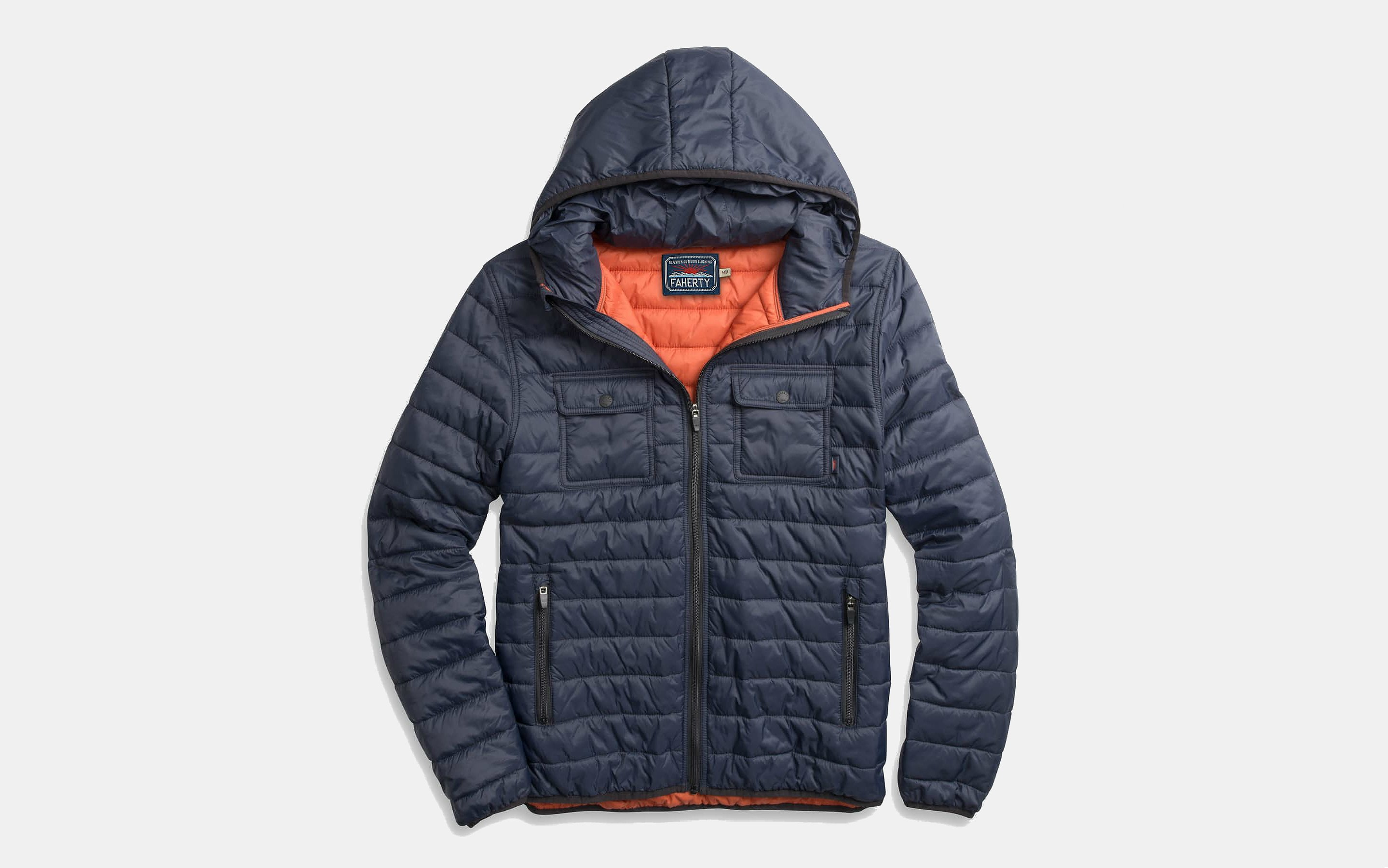 Faherty Brand Atmosphere Hooded Jacket