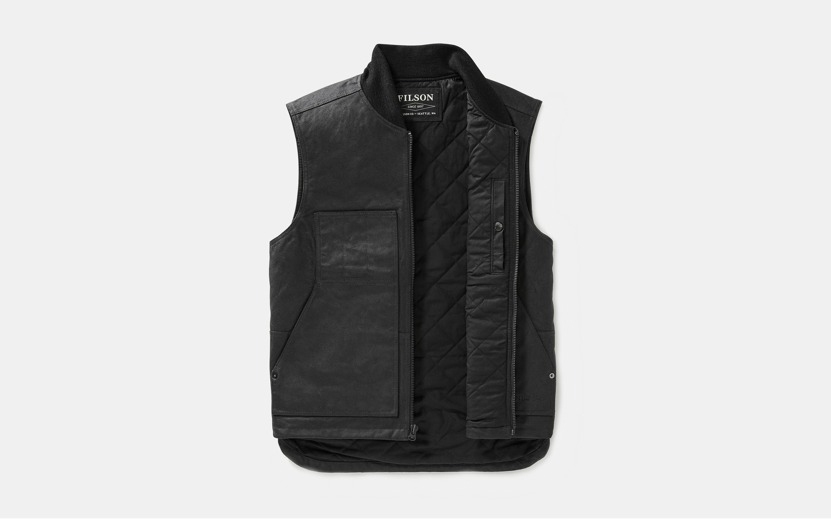 Filson Wax Work Vest