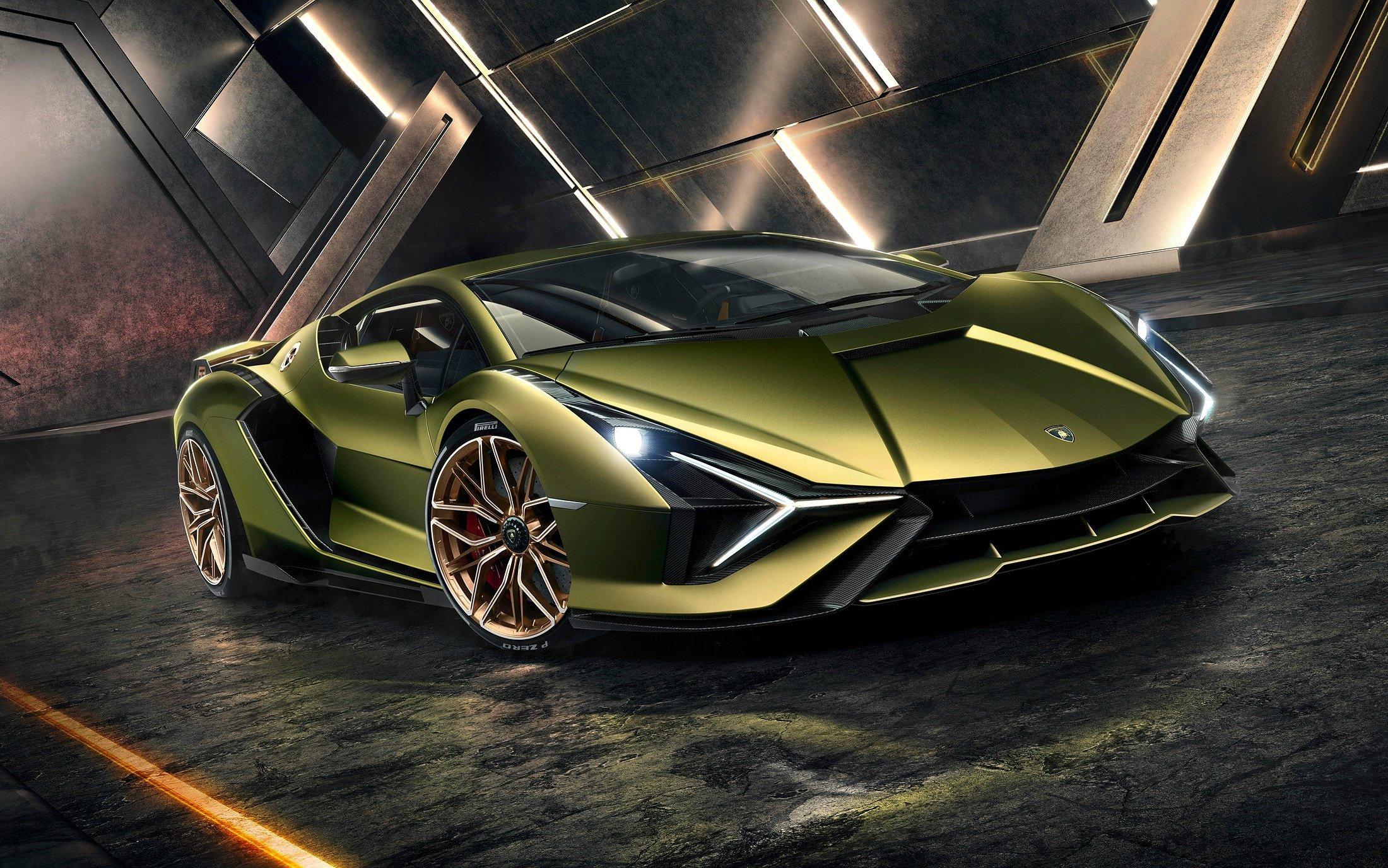 Lamborghini Sián Hybrid Coupe
