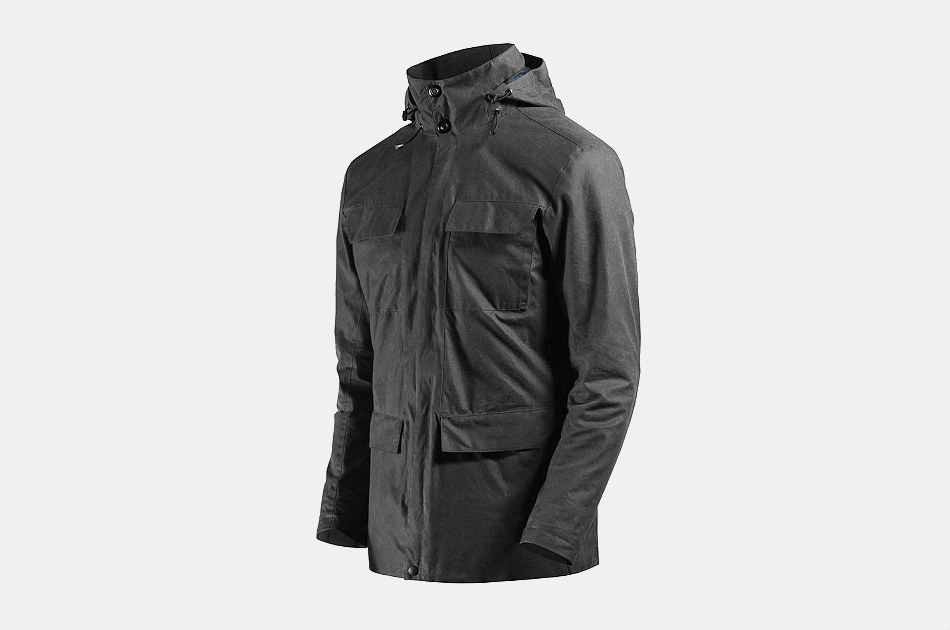 Mission Workshop Eiger Wax Canvas Field Jacket