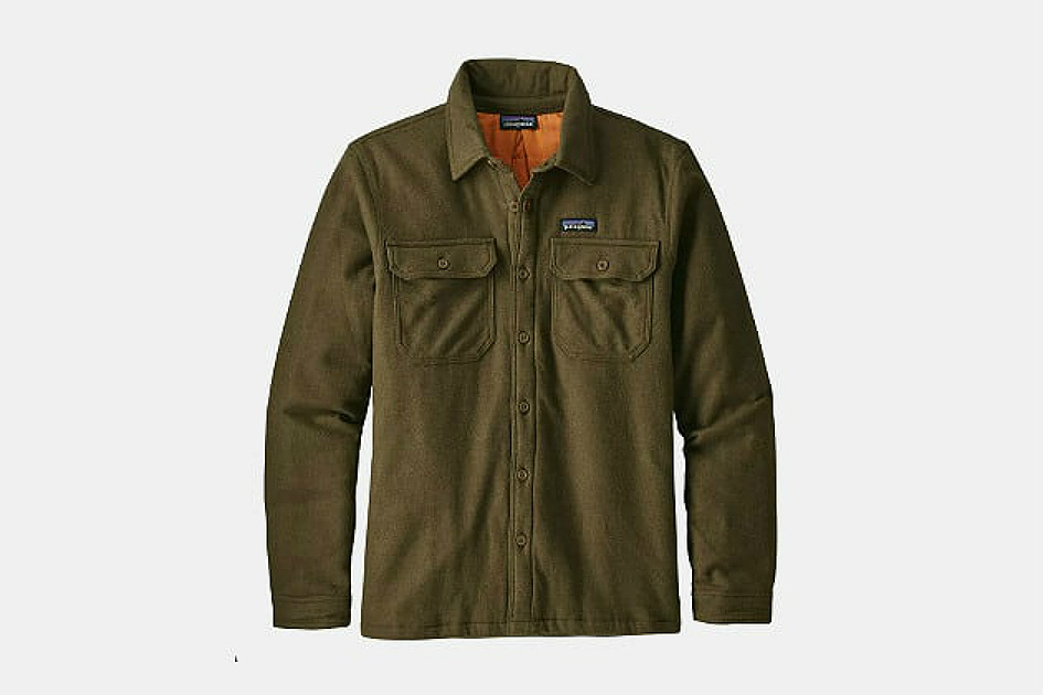 Patagonia Insulated Fjord Flannel Shirt Jacket