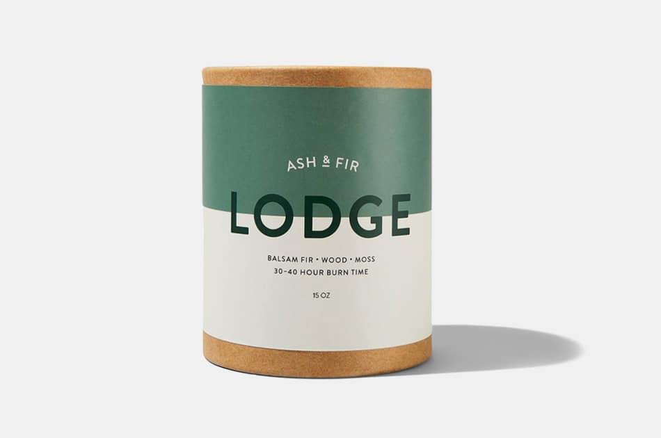 Ash & Fir Lodge Candle