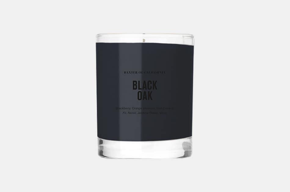 Baxter Of California Black Oak Candle