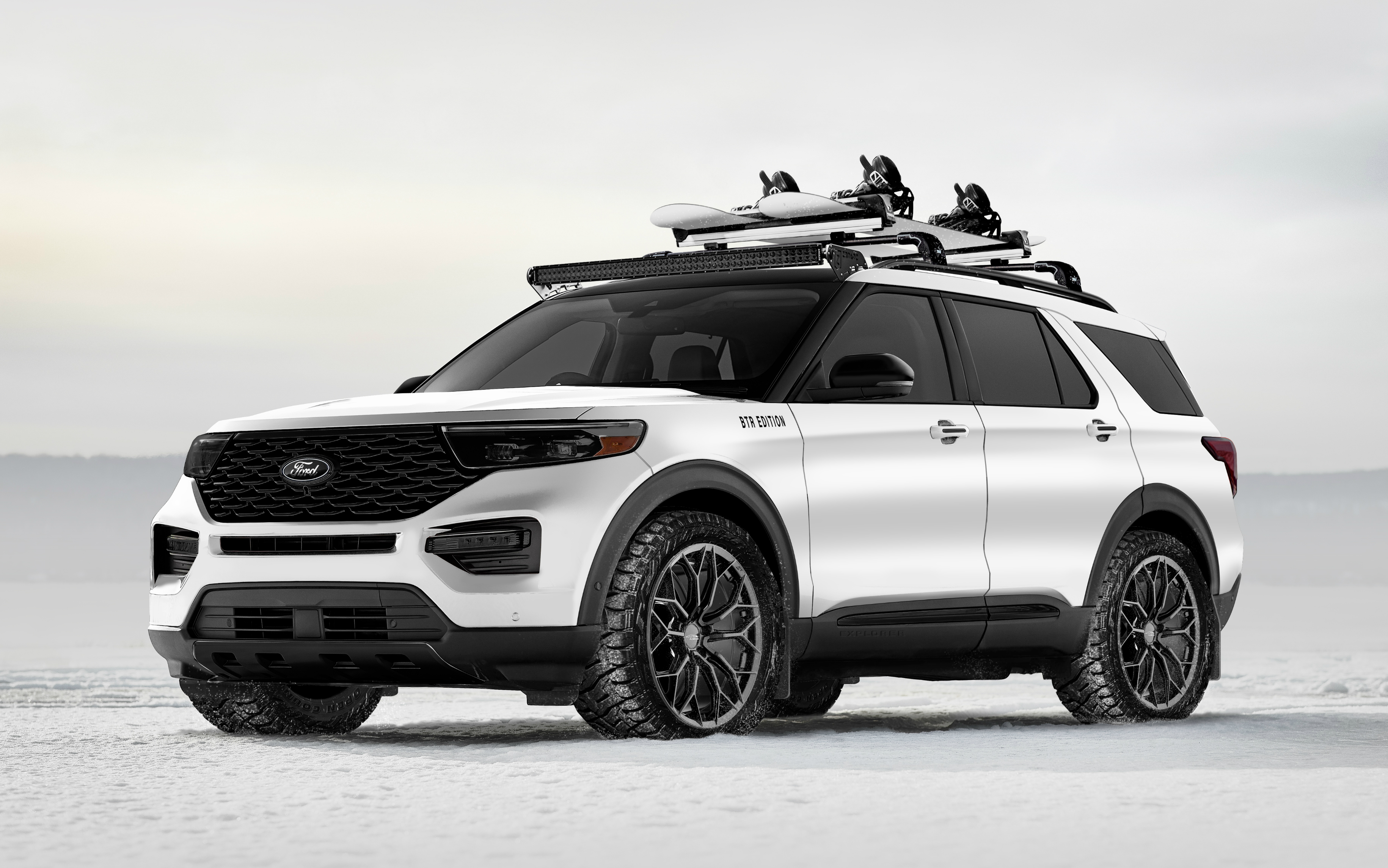 Blood Type Racing Ford Explorer Limited Hybrid SUV