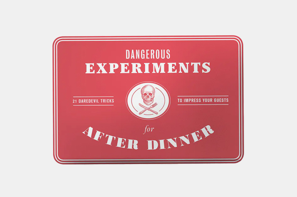 Dangerous Experiments After Dinner Game