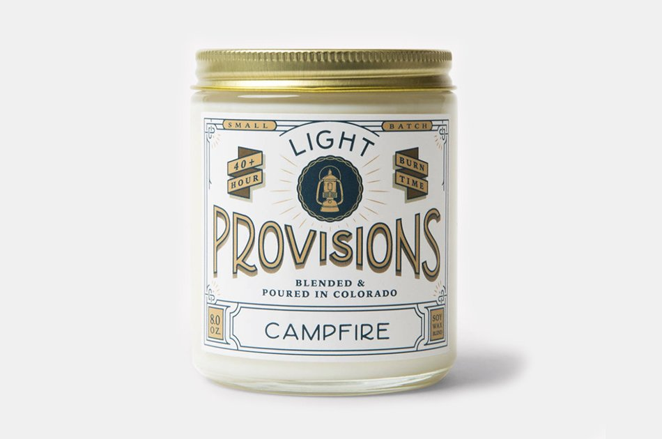 Light Provisions Campfire Candle