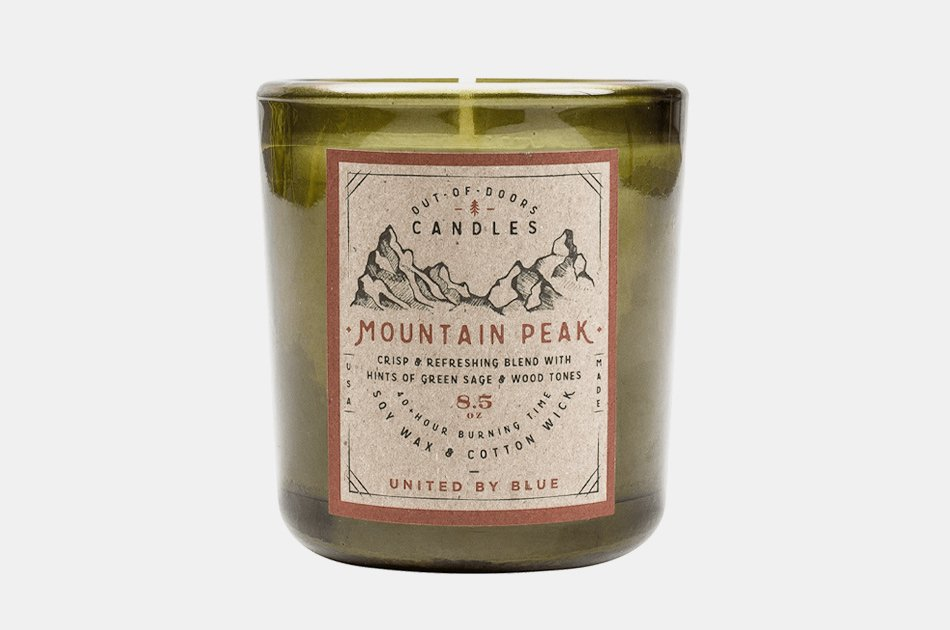 Mountain Peak Out-Of-Doors Candle
