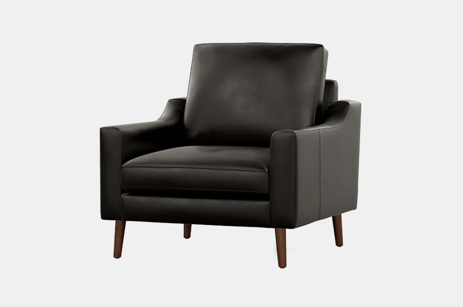 Nomad Leather Club Chair