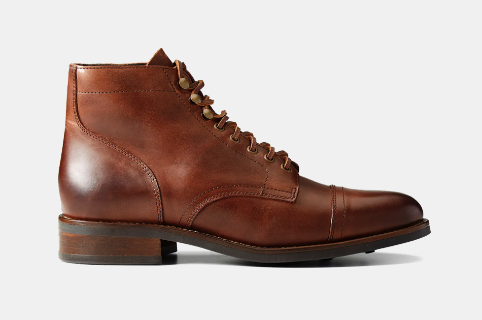 Rhodes Footwear Dean Cap Toe Boots