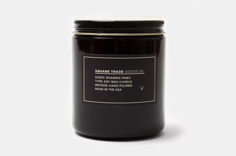 Square Trade Goods Co. Roaring Pines Candle