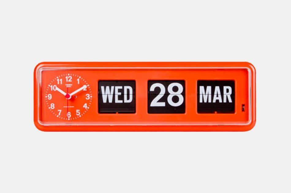 Twemco Calendar Wall Flip Clock
