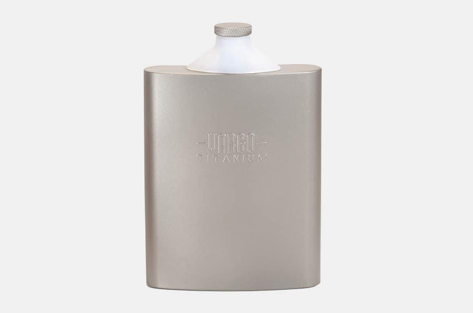 Vargo Titanium Hip Flask