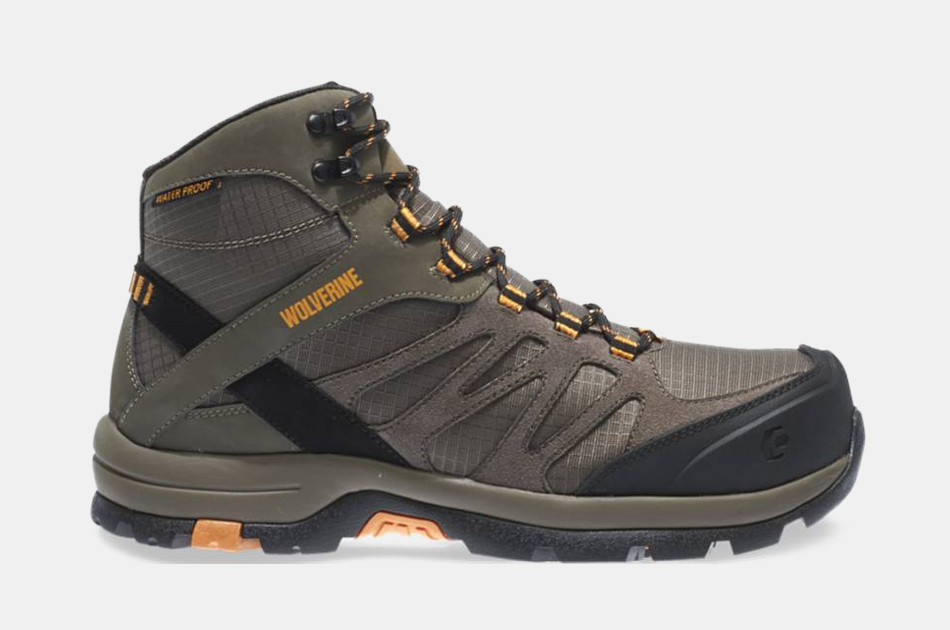 Wolverine Fletcher Waterproof Carbonmax Hiking Boots