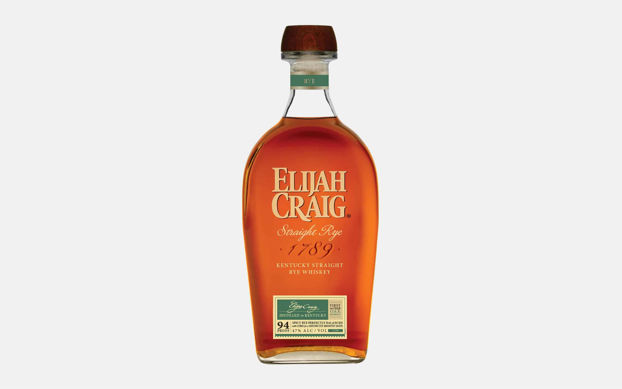 Elijah Craig Kentucky Straight Rye Whiskey