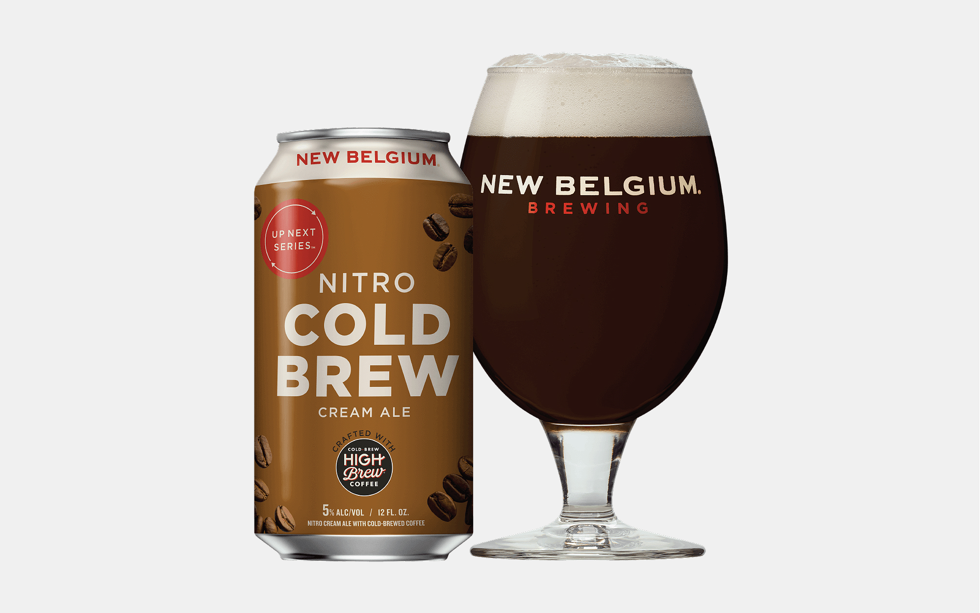 New Belgium Nitro Cold Brew Cream Ale