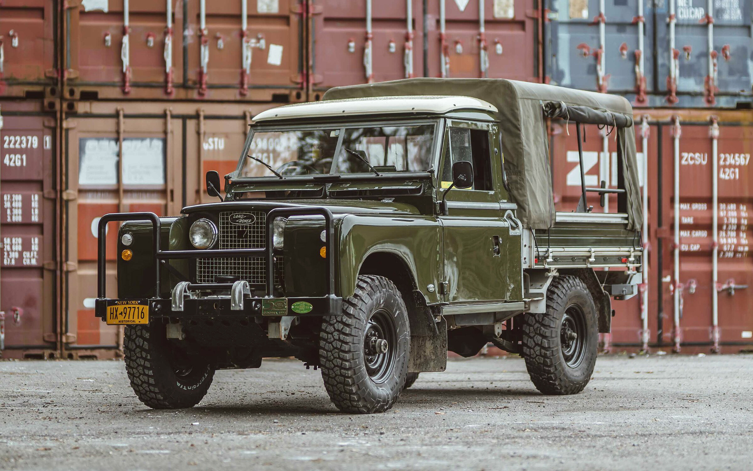 1958 Land Rover Series II UTE