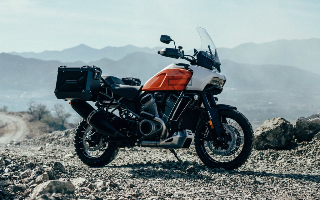 2020 Harley Davidson Pan America Adventure Touring Motorcycle