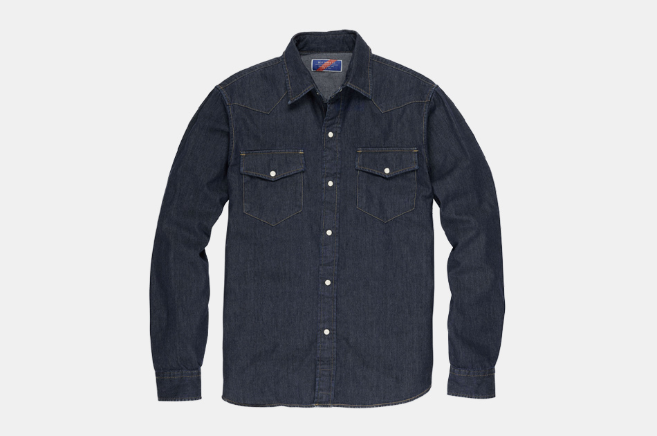 Best Made Co. Denim Western Shirt